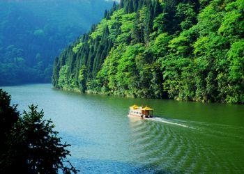 龙潭湖荡舟